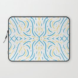 Symmetry Lines Summer Afternoon Laptop Sleeve