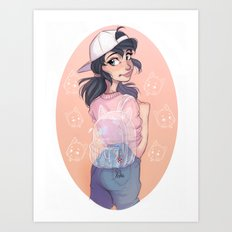 Bubble Bag Art Print