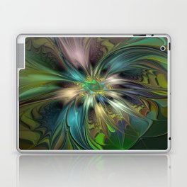 Colorful Abstract Fractal Art Laptop & iPad Skin