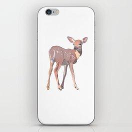 Baby Deer Art iPhone Skin