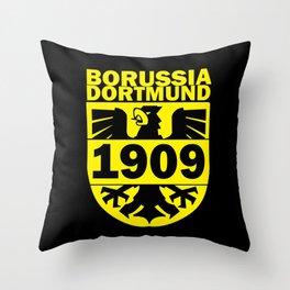 Slogan: Dortmund Throw Pillow