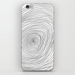 Spiral Rings iPhone Skin