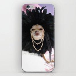 Chihuahua Vogue  iPhone Skin