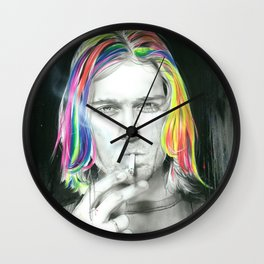 'Cigarette Burns' Wall Clock