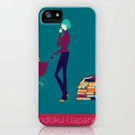 Tsundoku iPhone Case