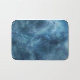 Sky clouds background Bath Mat