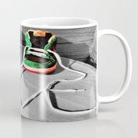 sneaker Mugs featuring Sneaker Love by SefoG