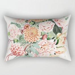 Fall Dahlia Bouquet Rectangular Pillow