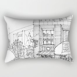 corner ba[K]ery dallas Rectangular Pillow