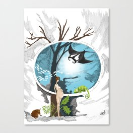 Evolve Canvas Print