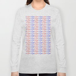 usa 4-america,united states of america,us,stars and strips,patriotic,patriot,united states,new york Long Sleeve T-shirt