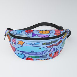 Colours Under the Sea Fanny Pack