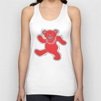 grateful dead Tank Tops featuring Grateful Dead (Ohio State) (Vector Art) by Troy Arthur Graphics