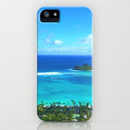 Oahu Hawaii Kailua iPhone Case