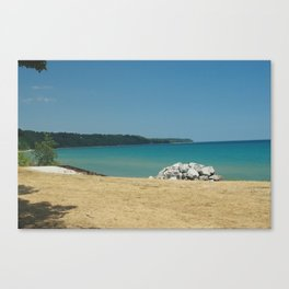 On the Bay Canvas Print