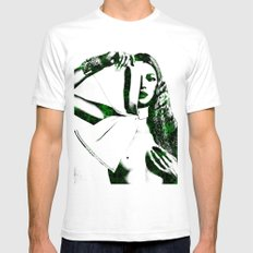 Kate Moss Mens Fitted Tee White LARGE