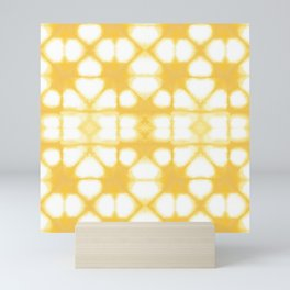 Shibori Ahi Yellow Mini Art Print