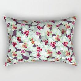 Kra dang nga,Tropical flower Rectangular Pillow