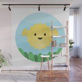 Blowfish Wall Mural