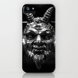 Devil's likeness iPhone Case