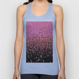 Sparkles and Glitter Pink Unisex Tank Top