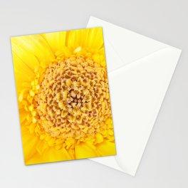 Sunny Summer Love - Yellow Gerbera #1 #decor #art #society6 Stationery Cards