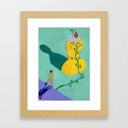 Jack & The Beanstalk Ⅴ Framed Art Print