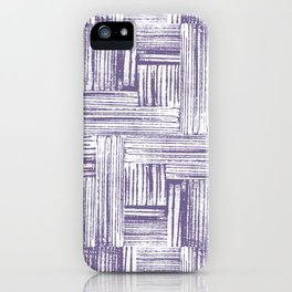 Stamped Lines One iPhone Case