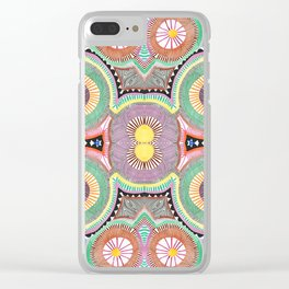 Primary Hypnosis Clear iPhone Case