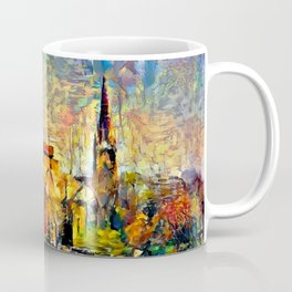 Notre Dame: A View From the Lake Coffee Mug
