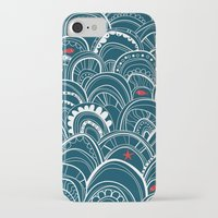 sailing iPhone & iPod Cases featuring sailing by Pardabon