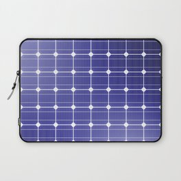 In charge / 3D render of solar panel texture Laptop Sleeve