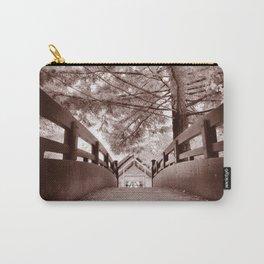 Sepia Bridge Carry-All Pouch