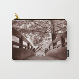 Sepia Bridge Carry-All Pouch