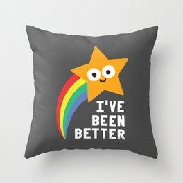 Shooting Straight Throw Pillow