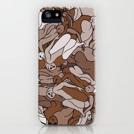 Chocolate Coffee Body Slugs iPhone Case