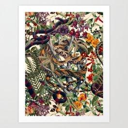 Dangers in the Forest II Art Print