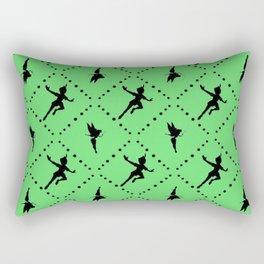Tinker Bell Art Print Rectangular Pillow