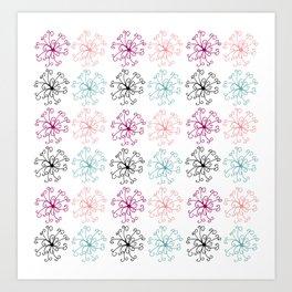 Rosettes Pattern Art Print