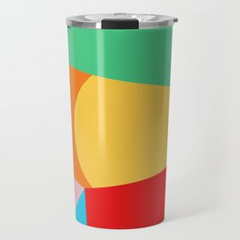 Circle Series - Summer Palette No.1 Travel Mug