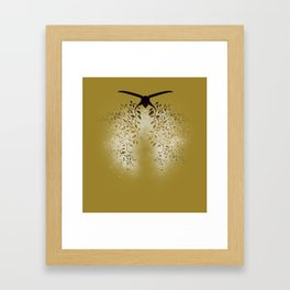 Breath the Barbare (V II gold) Framed Art Print