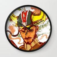 transformer Wall Clocks featuring I am a Transformer by Nicolae Negura