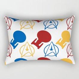 The Final Frontier Rectangular Pillow