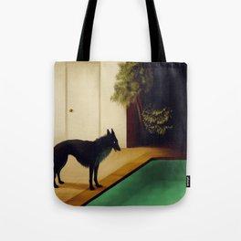Summer Dark Tote Bag