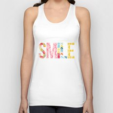 Smile Unisex Tank Top