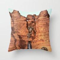 2001 Throw Pillows featuring 2001 by Ben Giles