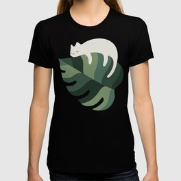 Cat and Plant 10 T-shirt