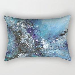 Ocean Abstract Art Rectangular Pillow
