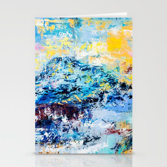 Visionary mountain Stationery Cards