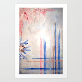 order and chaos Art Print